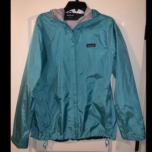 Women's Patagonia rain jacket
